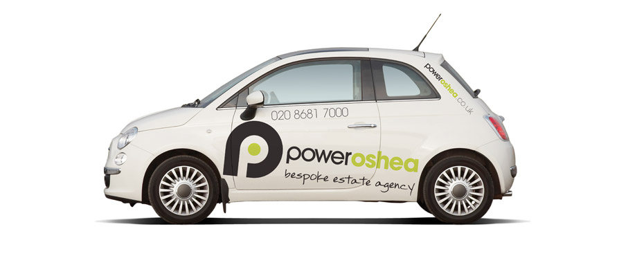 PowerOShea - branded car