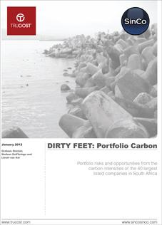 SinCo - Trucost Report - Dirty Feet: Portfolio Carbon