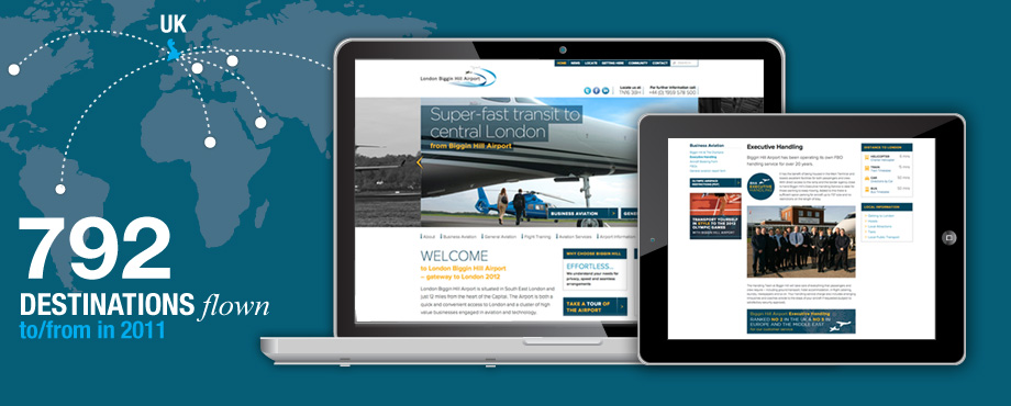 Biggin Hill Airport Website
